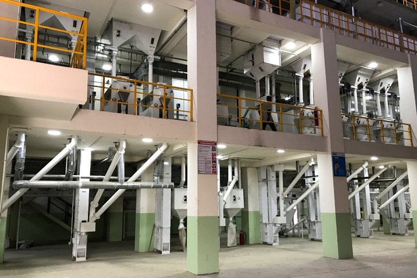 Complete Rice Milling Plant Engineering Services by Nextech Solutions