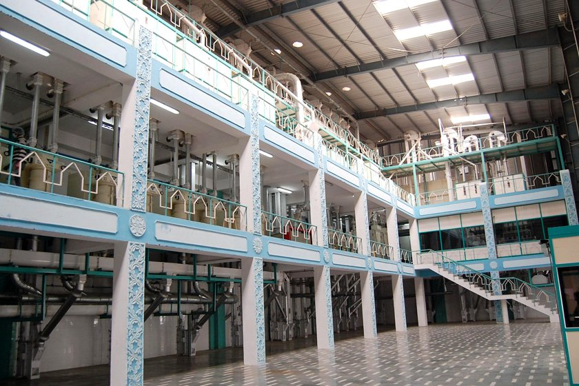 Design of Rice Processing Plant Project